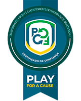 Certificado de Confiança Play For a Cause