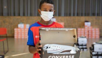Doação Tênis Play for a Cause